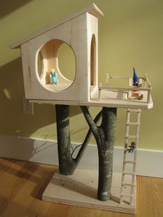 DIY treehouse Dollhouse?