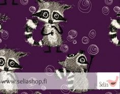 Racoon, Printing On Fabric, Duvet Covers, Pandora, Teddy Bear, Sewing, Kids, Poster, Fabrics
