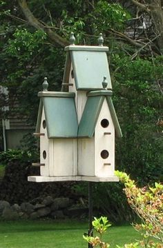Large Victorian Birdhouse....this is the one I have in my yard and I love it!