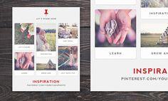 Photographer Digital Marketing Template for Pinterest Followers