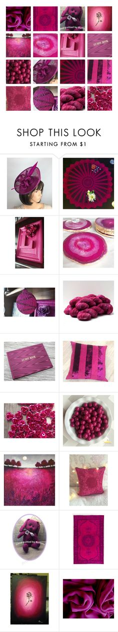 """""""Magenta"""" by andreadawn1 ❤ liked on Polyvore"""