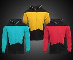Star Trek: The Next Generation Hoodies | DudeIWantThat.com