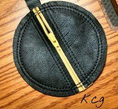 Custom Leather Ear Bud Case