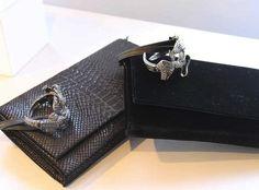 Viktor & Rolf Jeweled Cuff Bag: Croc 'n' Roll