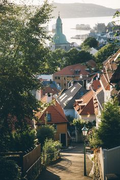 VINTAGE AND FRENCH - davykesey:   The view from our doorstep in Bergen,...