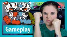 Cuphead Xbox One Gameplay! Cuphead rage quit xD