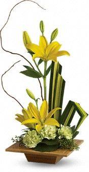 Teleflora's Bamboo Artistry Flowers