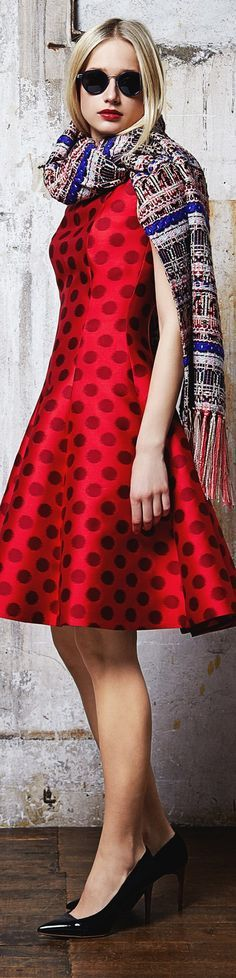 Ideas for fashion style romantic polka dots Only Fashion, Trendy Fashion, Girl Fashion, Fashion Show, Vintage Fashion, Fashion Women, Prom Dresses, Summer Dresses, Dresses 2016