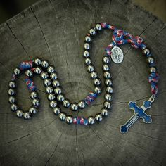 Patriot Paracord Rosary