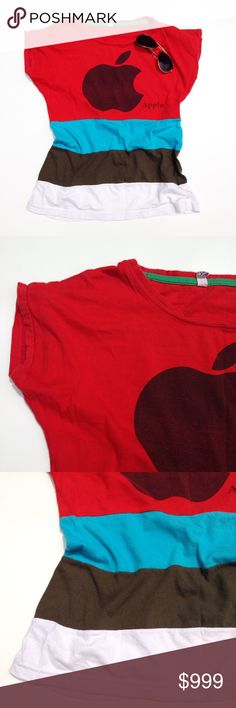 Apple vintage t-shirt Thank you for visiting my closet. I almost always ship the next day. Have a great day! Tops