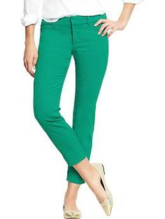 Women's The Diva Jacquard Ankle Pants | Old Navy