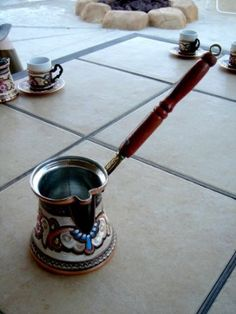 Amaaaazing Turkish Ibrik (coffee pot), 14 oz.  Do want!