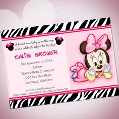 Minnie And Mickey Mouse Baby Shower Themes