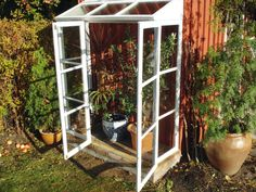 "Visit our web site for additional info on ""greenhouse plans"". It is actually a superb place to find out more. Window Greenhouse, Greenhouse Growing, Greenhouse Plans, Greenhouse Gardening, Plant Watering System, Greenhouse Supplies, Old Windows, Green Garden, Edible Garden"