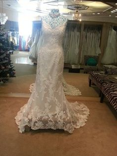 Casablanca 1975 Wedding Dress $795