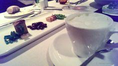 Erbsensuppe und ihre dreifachen Bohnen - Restaurant PUR