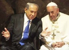 """Netanyahu: """"Jesus was here, in this land. He spoke Hebrew.""""   Pope: """"Aramaic.""""   Netanyahu: """"He spoke Aramaic, but he knew Hebrew.""""  If you want to really connect with someone you need to speak their language. And Hebrew is the heart language of the Jewish people. This little exchange was a sample of how many Christians haven't bothered with all that. Click through the pic to learn more about representing Yeshua to his own Jewish people, and how Sacred Name teachings won't help with that."""