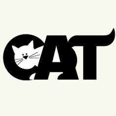 Shop Black & White CAT Rectangle Magnet designed by CAT LOVERS GIFTS. Crazy Cat Lady, Crazy Cats, Cat Lover Gifts, Cat Lovers, I Love Cats, Cute Cats, Typographie Logo, Art Postal, Logos