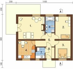 Minha casinha com 2 quartos
