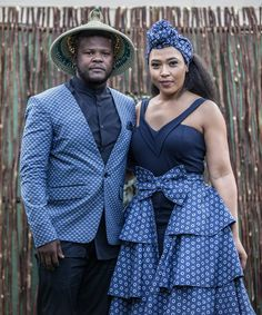 Sotho Traditional Dresses, African Traditional Wedding Dress, Seshweshwe Dresses, African Maxi Dresses, African Wedding Attire, African Attire, Africa Dress, African Print Fashion, Africa Fashion