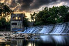 Walter Hill Dam in Murfreesboro, TN by Malcolm  MacGregor