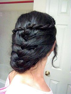 Game Of Thrones inspired updo :)