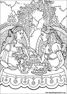 Desenhos Para Colorir Princesa Leonora Coloring SheetsAdult