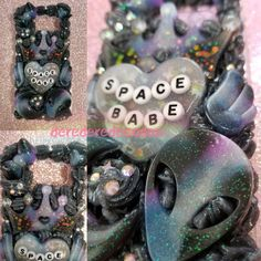 🎀💟Galaxy Space Babe case for the Galaxy S6 🌌 I LOVE this one so much Σ(///□///) Shop now at→ https://www.etsy.com/shop/DereDereDecoden💟🎀 #decoden #デコ電 #decodencase #decodencases #animefigures #wip #kawaii #かわいい #galaxys6 #galaxys6case #galaxy #galaxyphonecase #etsy #etsyseller