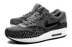 zapatillas nike air max 1 print dark grey mujer