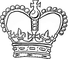 Crown Coloring Page From Royal Family Category Select 27260 Printable Crafts Of Cartoons Nature Animals Bible And Many More