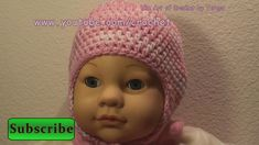 Baby Crochet Cap with Earflap Option - The Earflap. Learn how to Crochet Free Beginner Lessons Technical Knitting Computer Support - Get started Here - . Crochet with Crochet Geek every day, new tutorials each week. Crochet Baby Cap, Puff Stitch Crochet, Crochet Toddler, Crochet Geek, Crochet Kids Hats, Crochet Beanie, Hand Crochet, Knit Crochet, Foundation Half Double Crochet