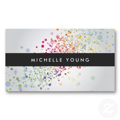 Customizable Business Card for Makeup Artist