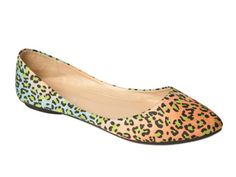 Multi Colored Leopard Flats- just bought some like these today!
