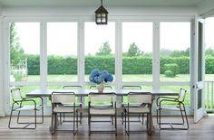 Eze breeze horizontal slider white frame clear vinyl for Arredare veranda chiusa