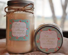 Mother's Of The Bride Personalized Soy by TheDancingWick on Etsy