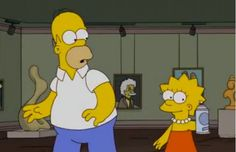 Complete list of art references in The Simpsons.