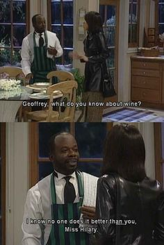 That time Geoffrey was the king of wordplay.