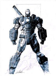 War Machine commission by LivioRamondelli.deviantart.com on @deviantART