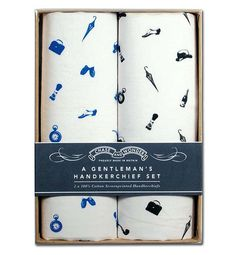 #THANKSDAD: OUR TOP 10 COOLIST FOR FATHER'S DAY - The Gent's Blown Away Handkerchief Set from Go British