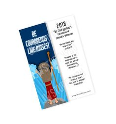 Be Courageous Convention Bookmark   JW Convention Gifts   Be Courageous Special Convention   JW Gifts   Sea Valiente   JW Convention 2018
