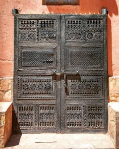 Aït Ben Haddou, Marruecos #doors #door #puertas #porte #puerta #portes #marruecos #maroc #morocco #nofilter #instagood #lugaresdelibro #arquitectura #architecture #aitbenhaddou #afrique #africa #áfrica #kasbah
