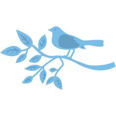 Marianne Designs Creatables Die Bird On Branch