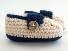adorable Crochet Baby Booties