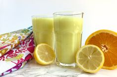 A power packed drink filled with anti-inflammatory goodness from turmeric, ginger, and lemon. Lemon Turmeric Tonic is a delicious good-for-you beverage! | This is so good...