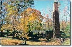 Weymouth Furnace ruins & Old Weymouth Meeting House Cemetery(Atlantic County, NJ)