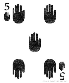 Playing Cards - High Five  - by Tang Yau Hoong