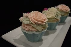 Soap Cupcakes. Elena's Bath Studio