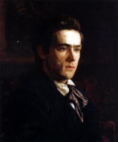 Thomas Eakins, Portrait of Samuel Murray, 1889