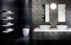 Beautiful Modern Bathroom Decorating Wall Tiles