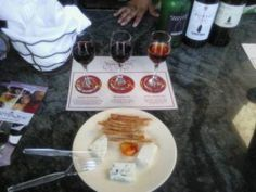 Wine tasting in California Land, Disneyland. Liked it so much, we went back and did it again!